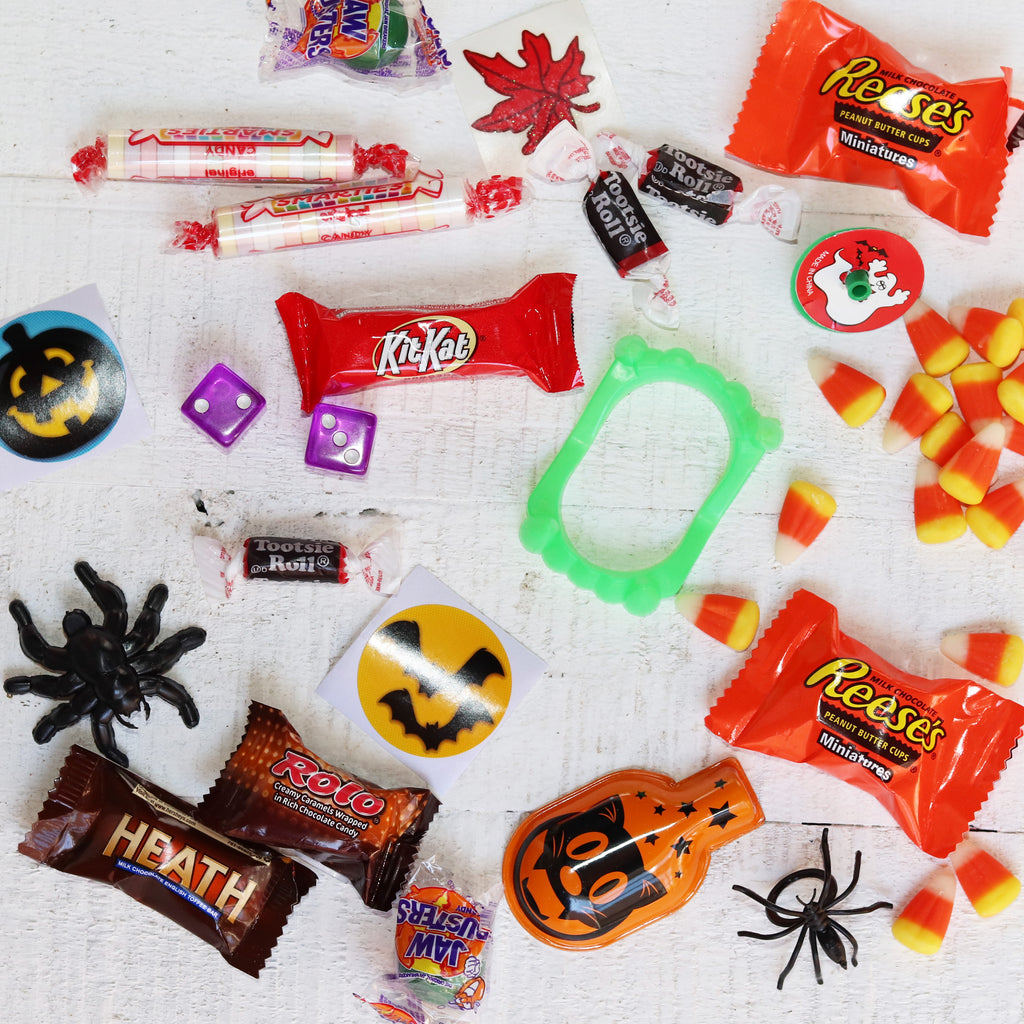 Assorted Halloween Goodies - 12 + Pieces