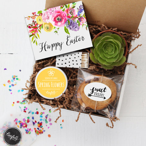 To one of my favorite peeps easter gift box confetti gift happy easter succulent gift box negle Choice Image