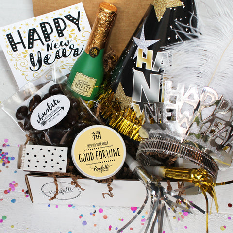 Happy New Year Gift Box