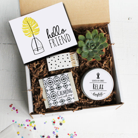 Hello Friend Gift Box