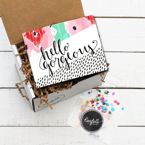Hello Gorgeous Greeting Gift Box