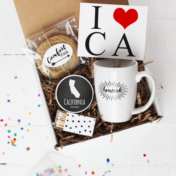 State Themed Homesick Gift Boxes