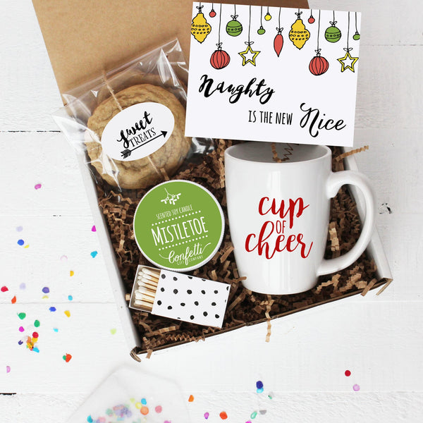 Naughty Is The New Nice Gift Box - Christmas Gift Box