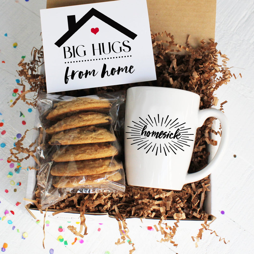 Hugs From Home College Care Package Confetti Gift Company Succulent Gift Boxes Soy Candle Gifts