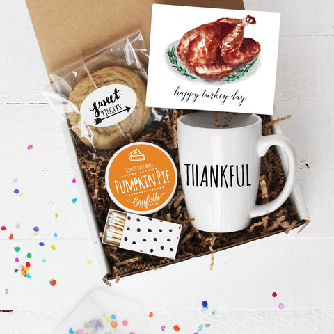 Happy Turkey Day Gift Box