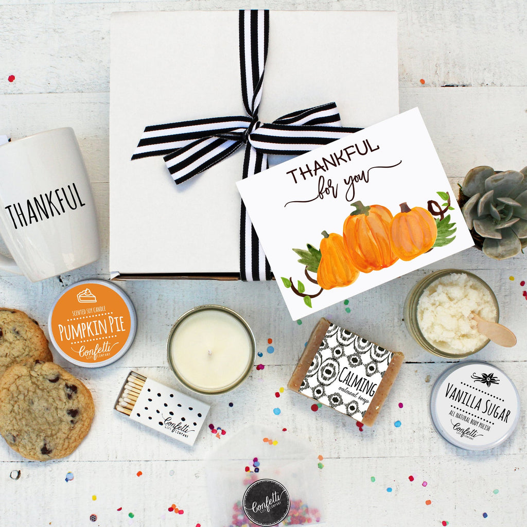 Thankful For You Gift Box - The Works