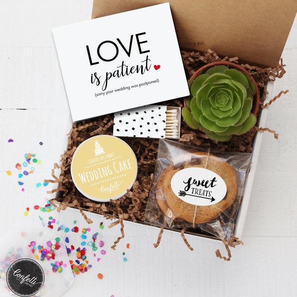 Postponed Wedding - Love is Patient Gift Box