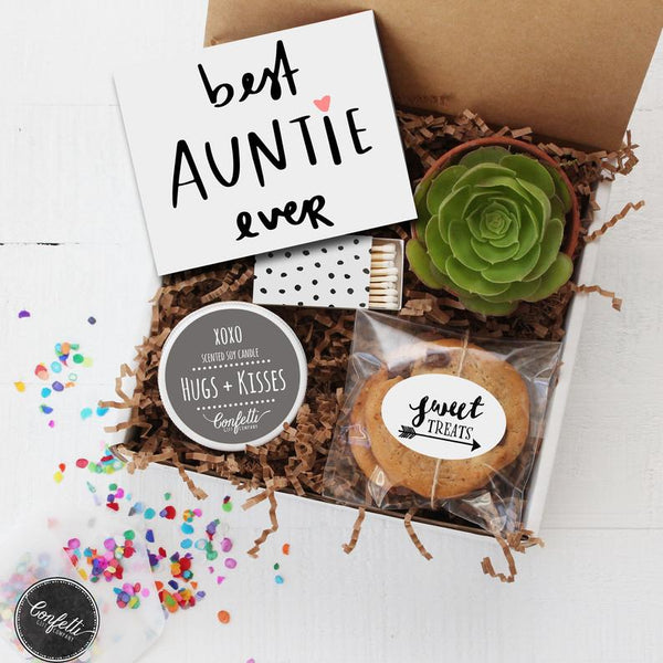 Best Auntie Ever - Succulent Gift Box