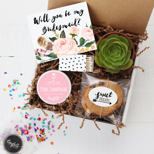 Will You Be My Bridesmaid?  Gift Box