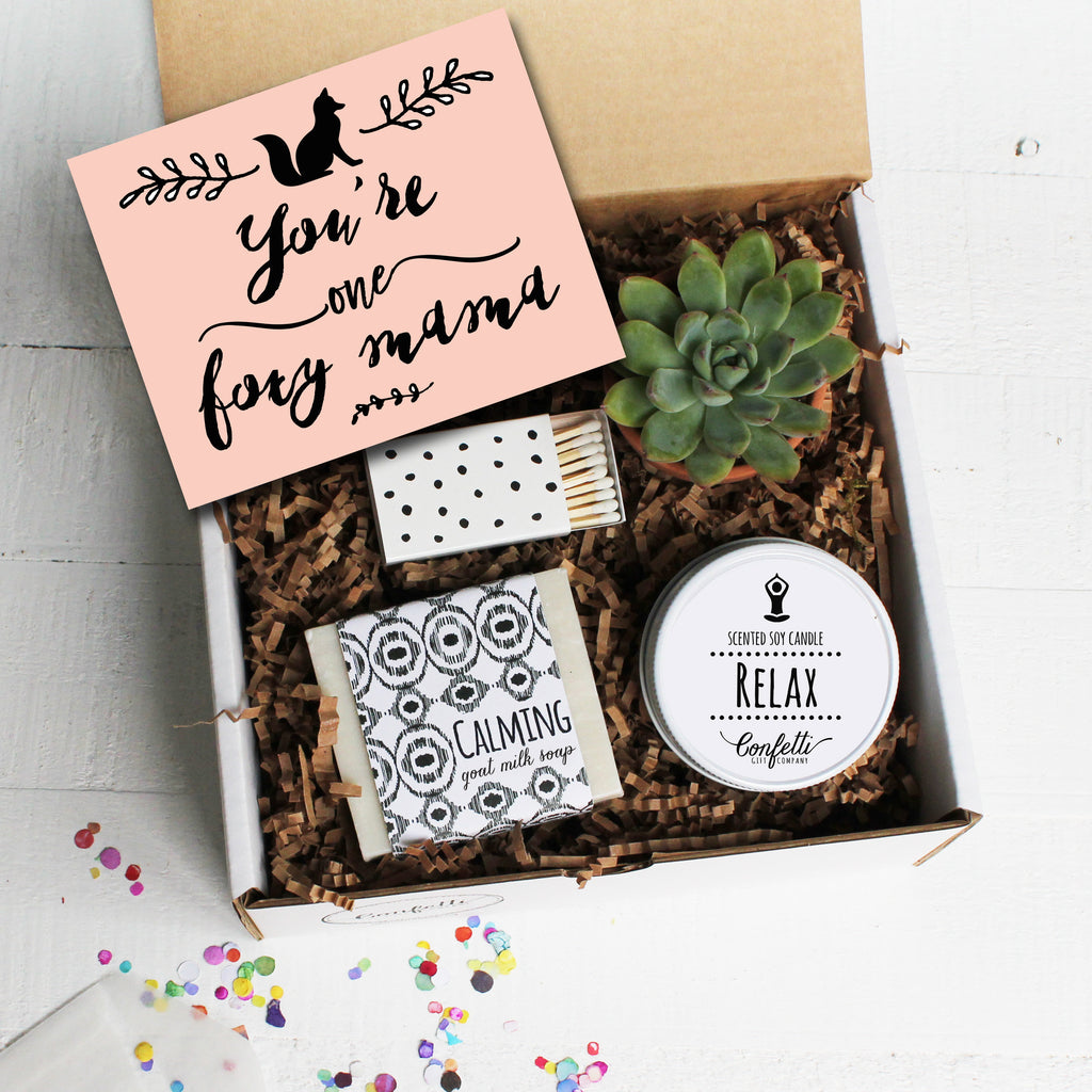 You're One Foxy Mama Gift Box