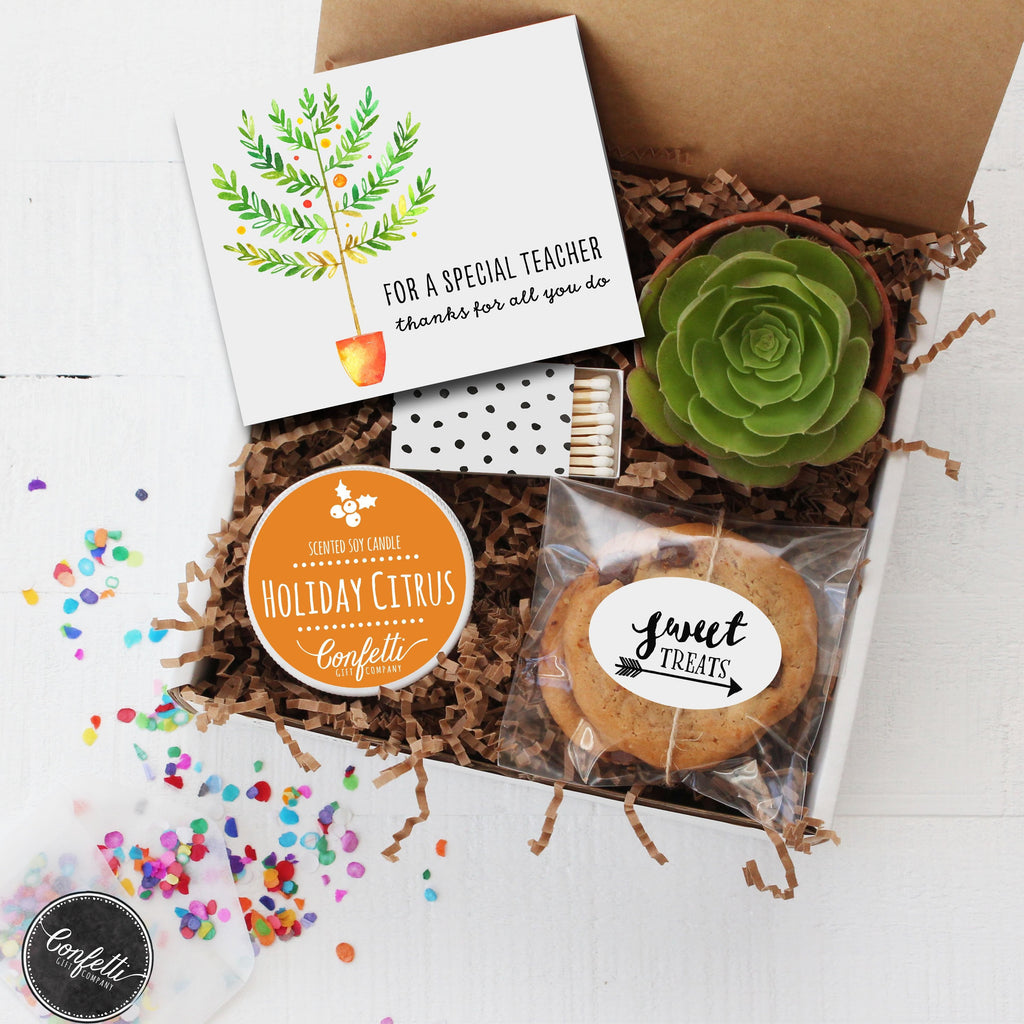 Holiday Teacher Gift Box
