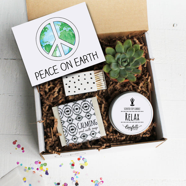 Peace On Earth Holiday Gift Box