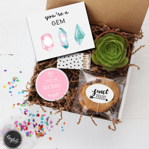 You're a Gem Gift Box - Succulent Gift Box