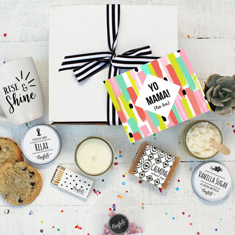 Yo Mama To Be pregnancy gift - The Works