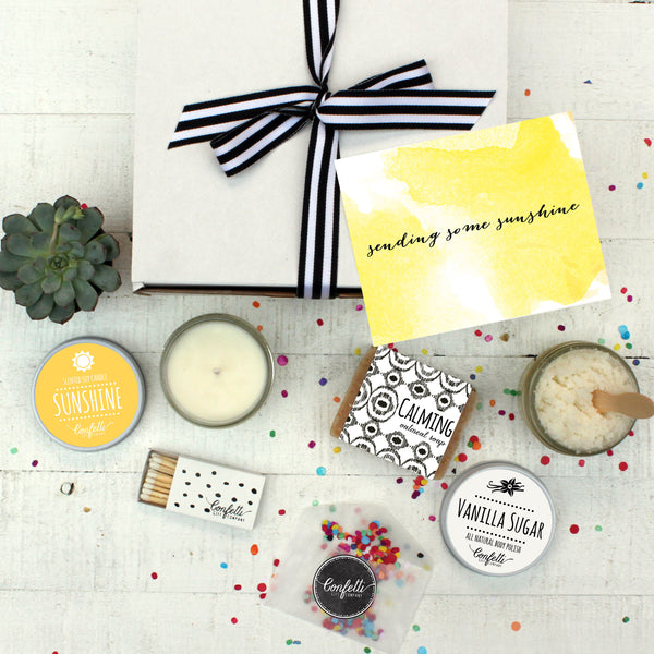 Box of Sunshine - Spa Gift Set