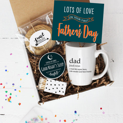 First Father's Day Gift Box