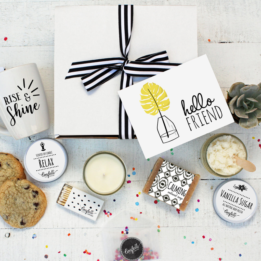 Hello Friend Gift Box - The Works