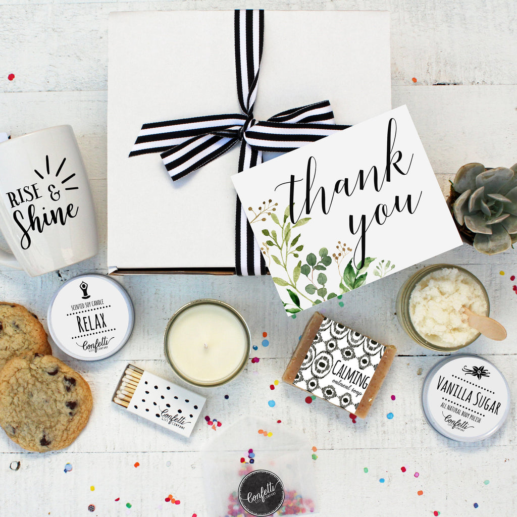Botanical Thank You Gift Box - The Works