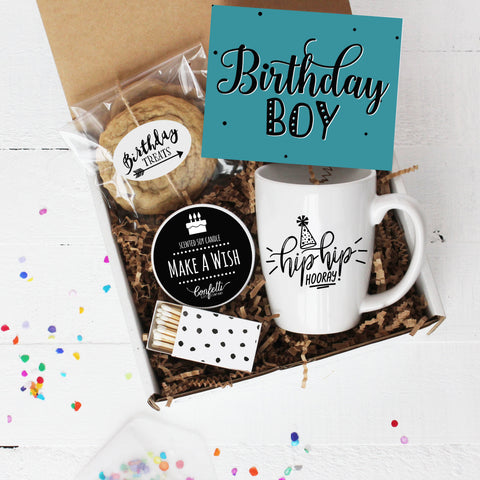 Birthday Boy Gift Box