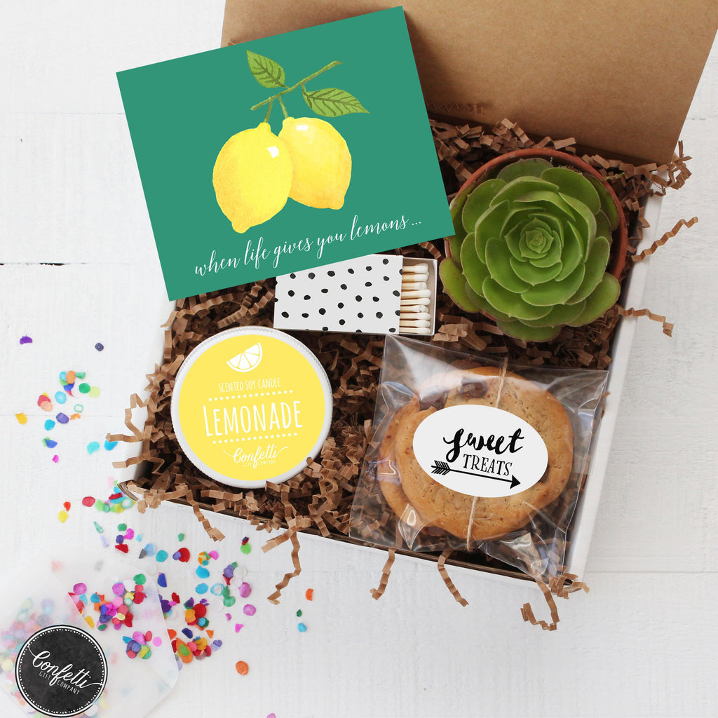 When Life Gives You Lemons - Succulent Gift Box