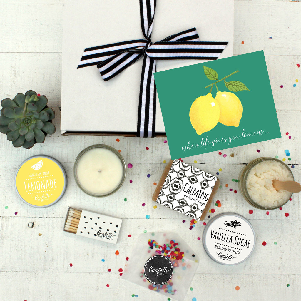 When Life Gives You Lemons - Spa Gift Set