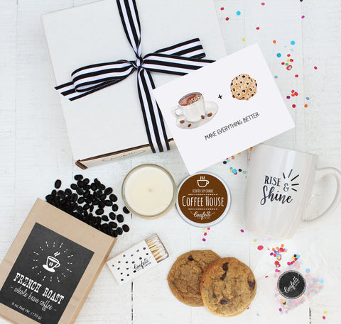 Coffee Gift Set - Coffee and Cookies Make Everything Better