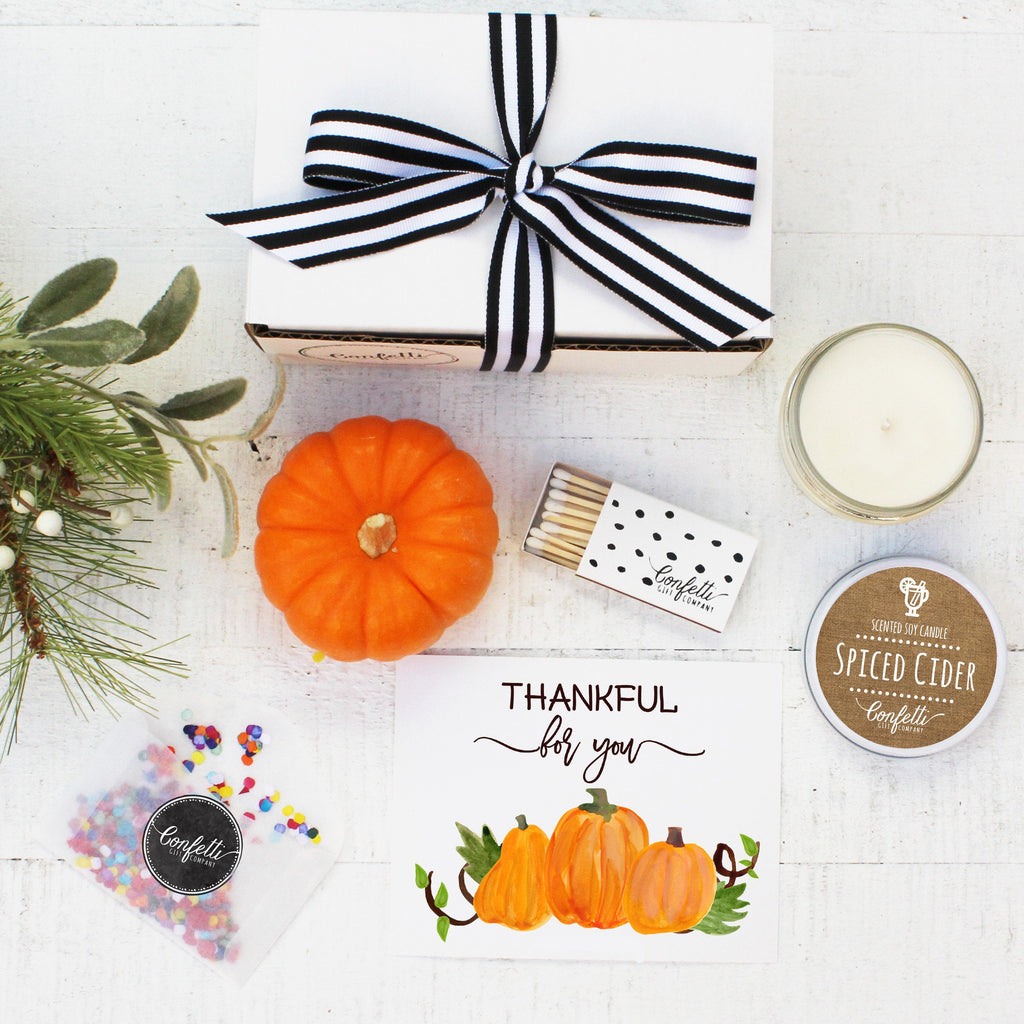 Thanksgiving Gift -  Thankful for You Gift Box