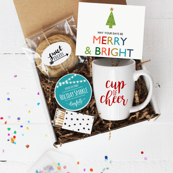 Christmas Gift Box - Merry and Bright Comfort Box