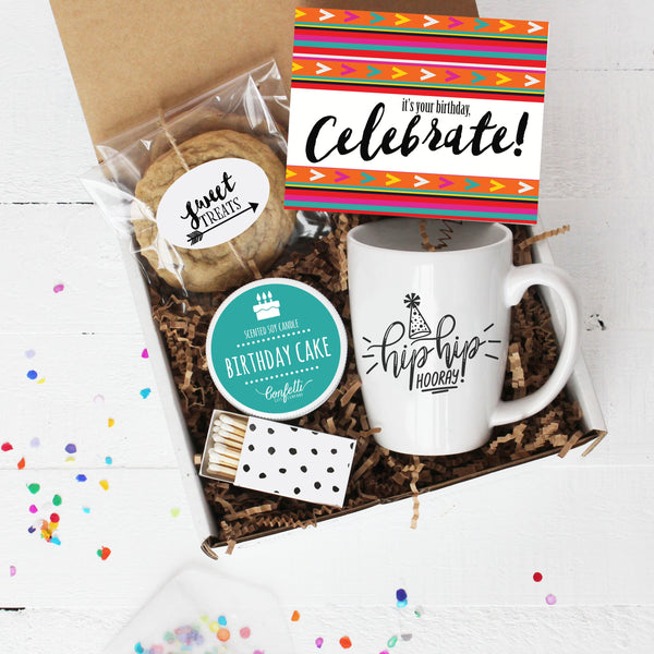 Celebrate  Birthday Gift Box