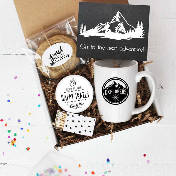 On To The Next Adventure Mug Gift Box