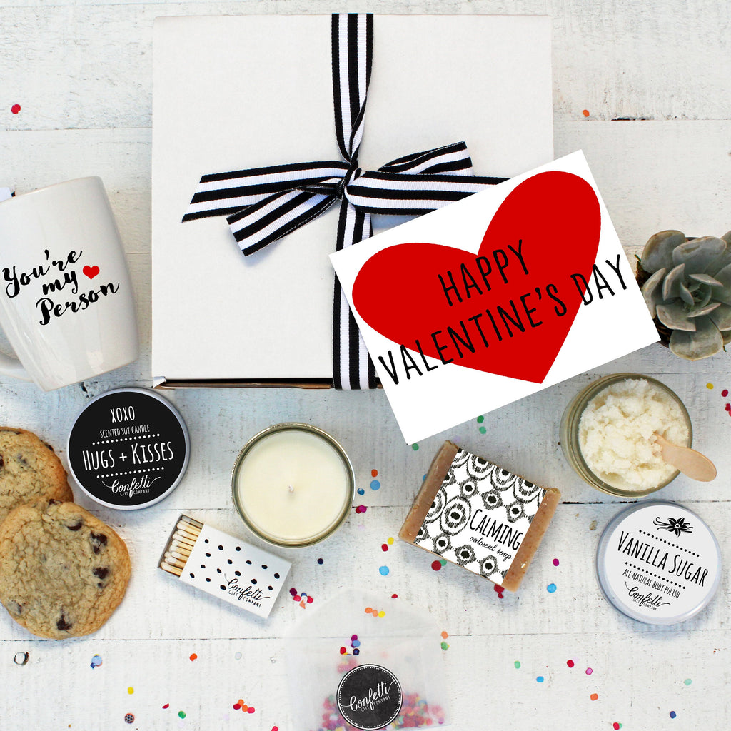 Happy Valentine's Day Gift Box - The Works