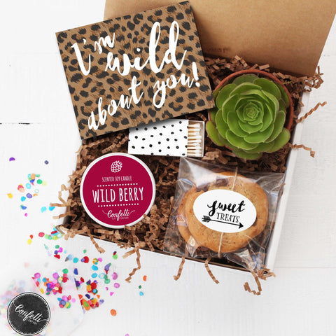 Valentine's Day Gift Box - I'm Wild About You