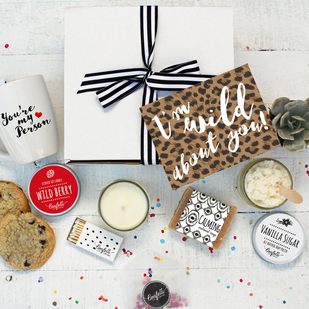 Valentine's Day Gift Box - I'm Wild About You Gift Box - The Works