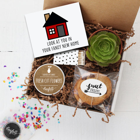 Housewarming Gift - Look At You In Your Fancy New Home Gift Box