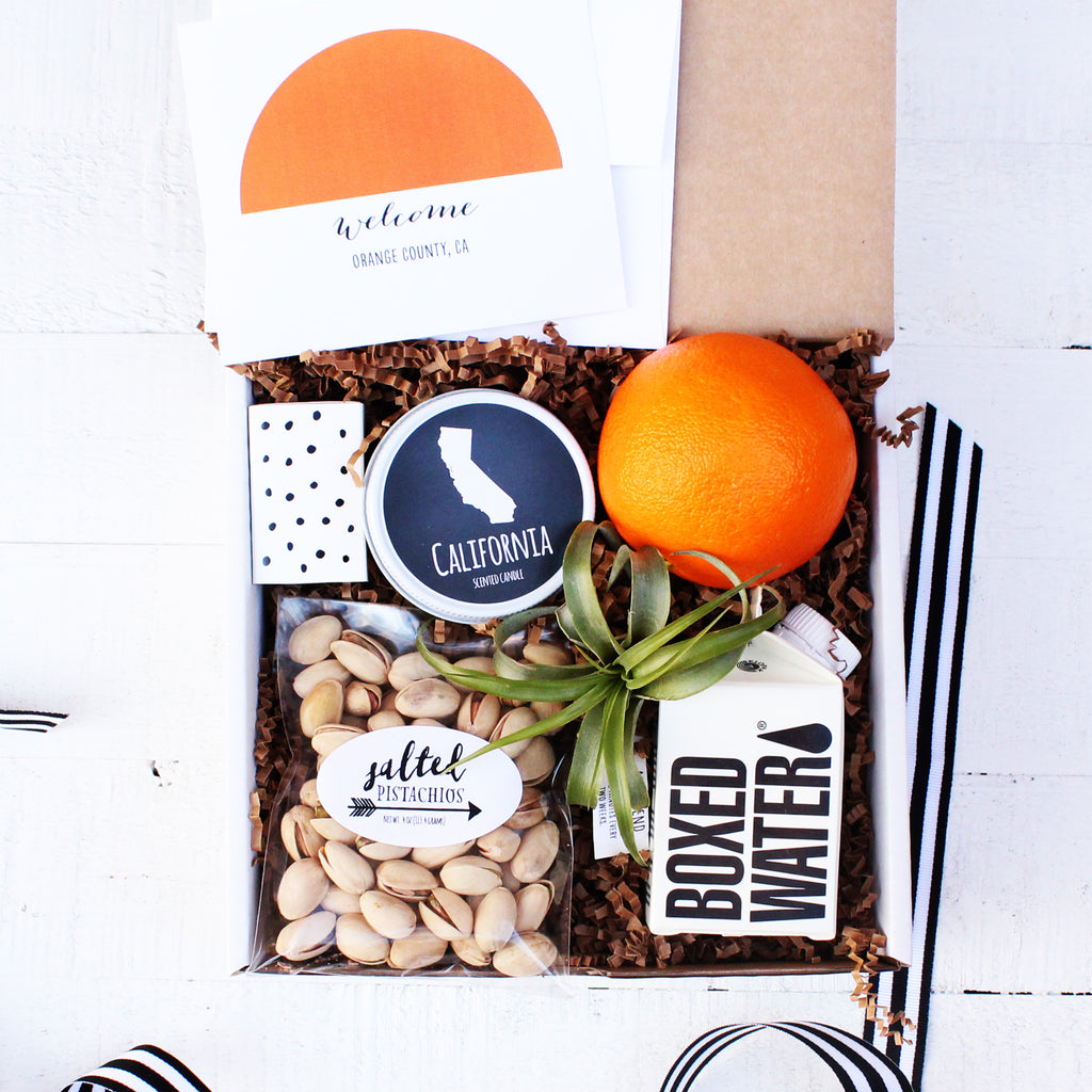 Welcome to Orange County - Corporate Event & Wedding Welcome Box