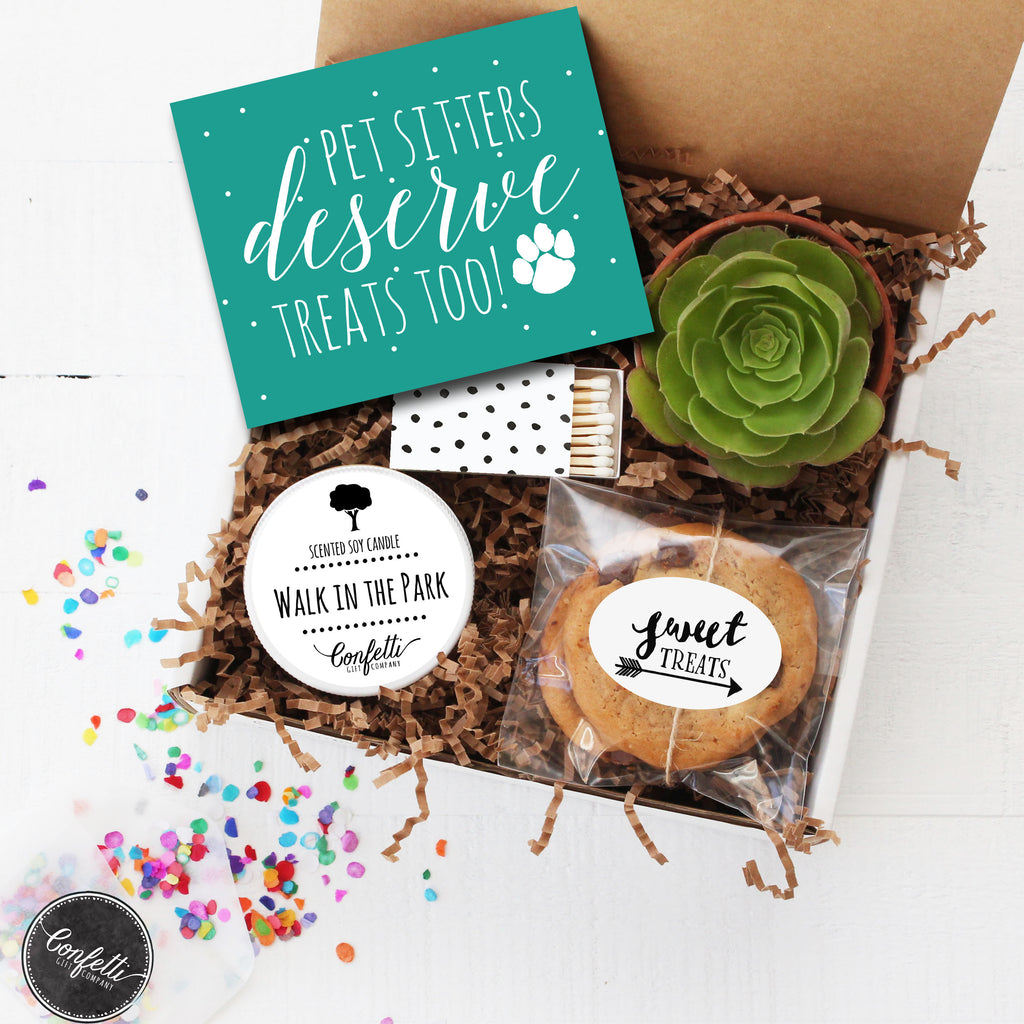 Pet Sitter Gift Box - Pet Sitters Deserve Treats Too