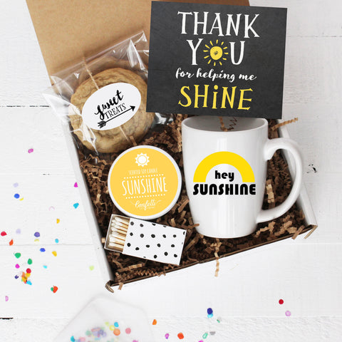Thank You For Helping Me Shine - Comfort Box