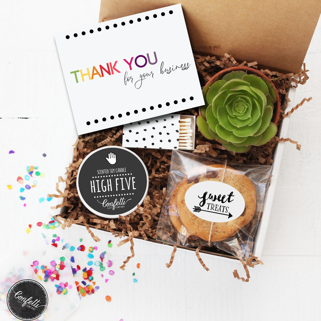 Thank You For Your Business Gift Box