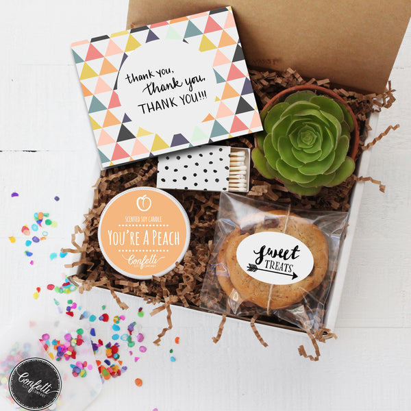 Wedding Gift Ideas For Coworkers: Thank You, Thank You, Thank You Gift Box