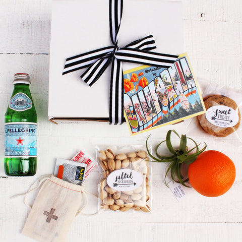 Welcome to California - Corporate Event & Wedding Welcome Box