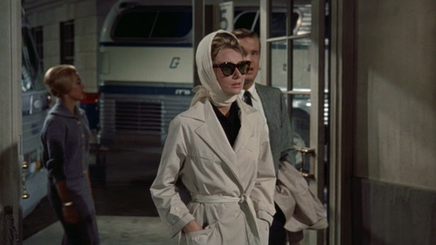 Audrey Breakfast at Tiffany's Trench