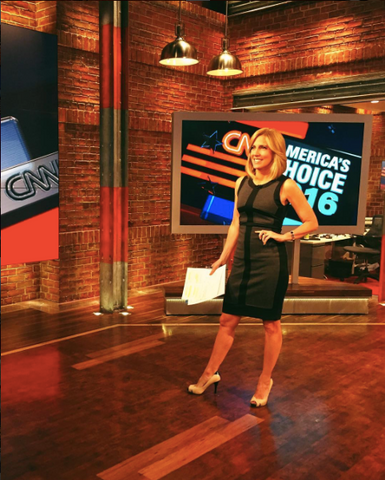 CNN Anchor Alisyn Camerota Wears Shannon Snow