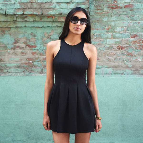 Breezy Little Black Dress