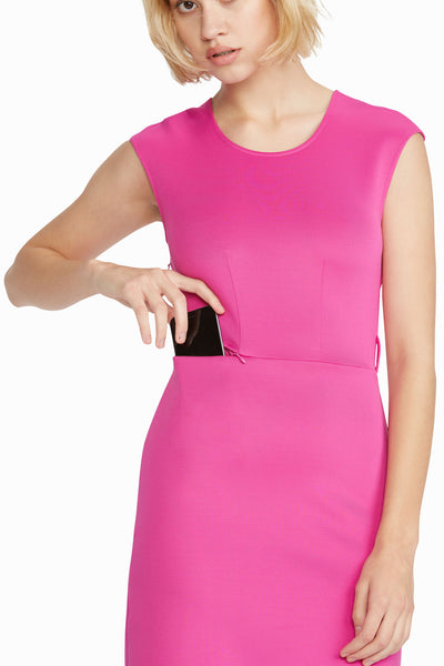 Paris Chic Boardroom Dress, Fuchsia