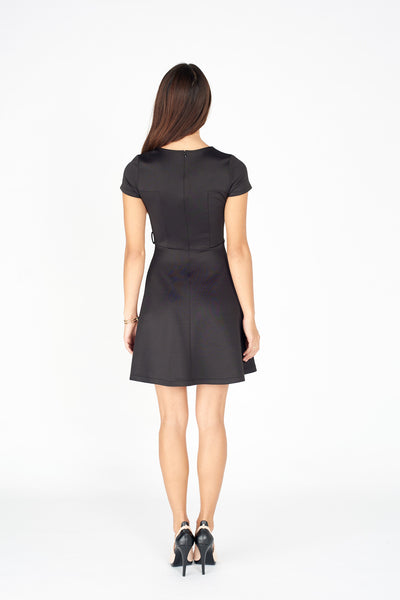 Gogo Cap Sleeve Dress