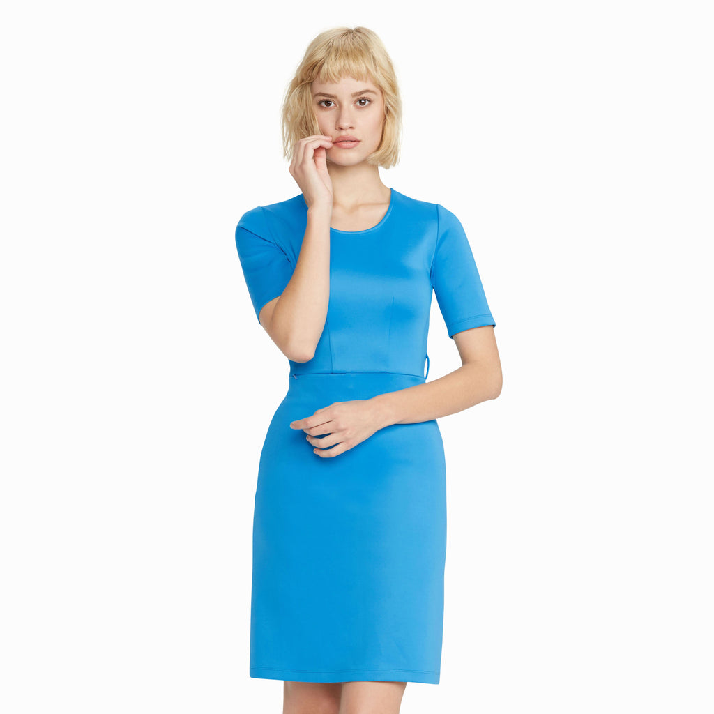 Ted Speaker Dress, Teal