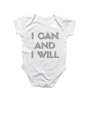 I Can And I Will- Kids/Baby