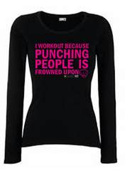 Punching People (Ladies)