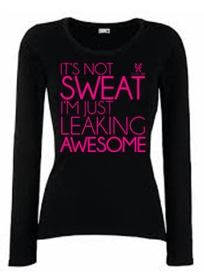 It's not sweat