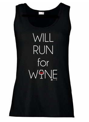 Will Run for Wine (Ladies)